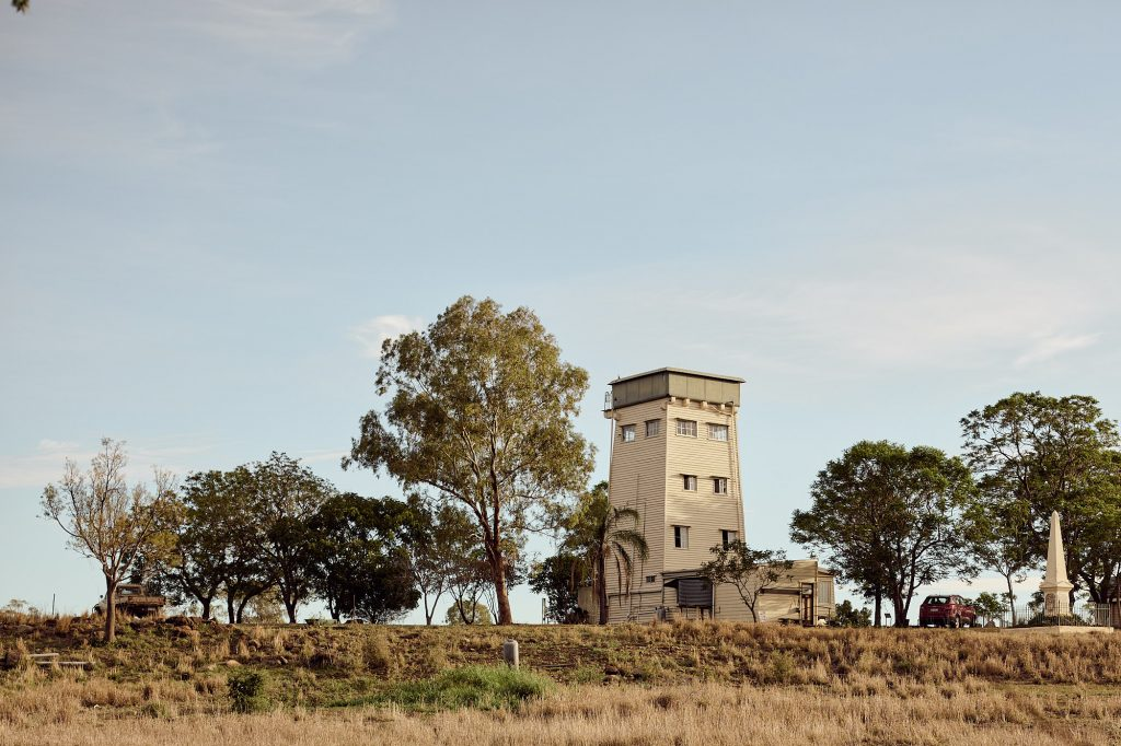 Jimbour's water tower